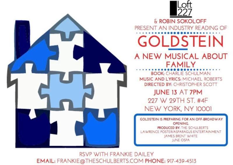 GOLDSTEIN | The Schulberts | Robin Sokoloff | Loft227